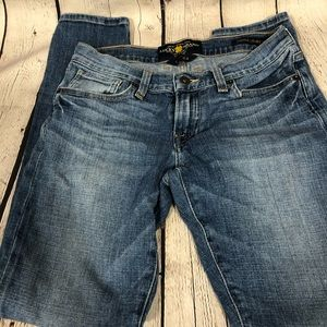 Lucky Brand Sienna Cigarette Jeans 00/24